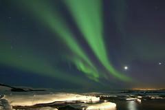 Aurora Iceland 1.3.2017 #5 (ragnaolof) Tags: iceland northernlights aurora borealis green night winter sky landscape snow solarstorms