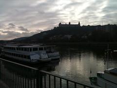 Würzburg (2014) (alexismarija) Tags: würzburg wurzburg bavaria germany europe winter wurzburgresidence rivermain mainriver river würzburgresidence architecture history sunset