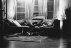 IMG_0003 (william-rose) Tags: pentax bw blackandwhite 35mm film analog filmisnotdead portrait multipleexposure doubleexposure ghost ghosting