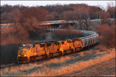 UP 4845 [Explored] (Justin Hardecopf) Tags: up unionpacific 4845 emd sd70m unit sand plattsmouth nebraska railroad train