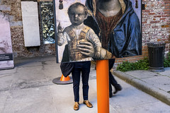 (Giovanni Stimolo) Tags: orange street shoes fujifilmfinepixx100s fuji feet x100s city colors color legs painting canpubphoto