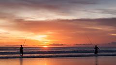 _MG_1711 (treilmann) Tags: beach fisherman seminyak sunset bali fishing