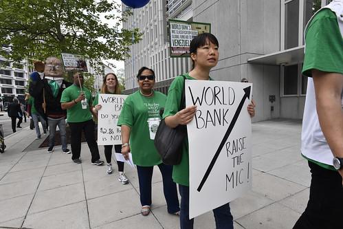Raise the MIC Protest, Washington DC - April 21, 2017