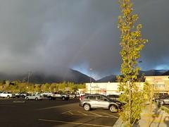 Rainbow (denebola2025) Tags: north ogden utah smiths market place rainbow rain clouds cloud shower