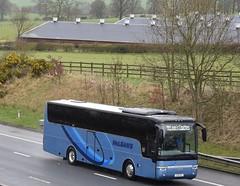 5351HP  (SP12BVY)  McLeans, Airdrie (highlandreiver) Tags: 5351hp 5351 hp sp12bvy sp12 bvy mcleans coaches airdrie lanarkshire aberfeldy motor services van hool bus coach m6 wreay carlisle cumbria