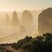 Apostles in the mist (Derek Midgley) Tags: p3181153hdr twelve apostles mist seaspray fog