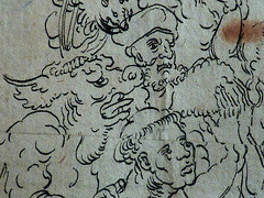 CRANACH Lucas (Ecole) - Le Jugement Dernier (drawing, dessin, disegno-Louvre INV18929) - Detail 30 (L'art au présent) Tags: art painter peintre details détail détails detalles drawing dessins dessin disegno personnage figure figures people personnes dessins16e 16thcenturydrawing 16thcentury peintureallemande germanpaintings tableaux louvre paris france museum lucascranach l'ancien lucas cranach allemagne germany anges angels angel girl femmes jeunefille fille jeune hommes monster hell enfer paradis paradise god dieu vices vice love amour young youngwoman femme jeunefemme bare naked nude nue nudefemale nakedman woman women enfant kid kids children child man men face faces visage portrait