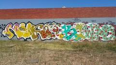 Sauce: 'Nemco' & Kawps... (colourourcity) Tags: streetartnow streetart streetartaustralia graffiti writers burner burners letters wildstyle melbourne burncity awesome colourourcity original sauce nemco kawps bot botcrew fly flies joiner