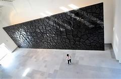 Solitude is bliss... (modestino68) Tags: solitudine solitude museo museum arte art donna woman muro wall napoli naples tameimpala