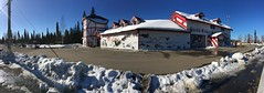 Santa Does Exist (tourtrophy) Tags: santaclaushouse santaclaus northpole alaska house iphone6splus smartphone smartphonephotography panorama