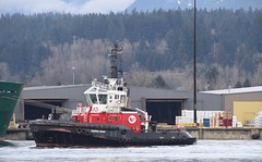 Tug boat Seaspan Raven (D70) Tags: tug boat seaspan raven imo 9432957 mmsi 316018851 call sign cfn6643 flag canada ca ais vessel type gross tonnage 441 deadweight 149 length overall breadth extreme 282m 12m year built 2010 ship assist escort sigma 150 600 mm f5 63 dg os hsm contemporary silk monopod