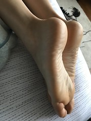 Soft Soles (Ped-antics) Tags: sexy soles sexyfeet sexytoes feet footfetish femalefeet arches amateur