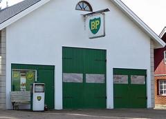 Nostalgi  /   nostalgia (larseriksfoto) Tags: bp british petroleum bensin bensinstation petrol station björka sweden sverige dmczs50 dmctz70
