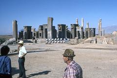 Found Photo - Iran - Persepolis - Archeological Site 06.tif (David Pirmann) Tags: iran ruins archeology persia persian unesco worldheritage xerxes parsa takhtejamshid achaemenid dpfoundphotoasia1976 persepolis