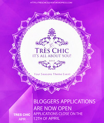 Tres Chic | Flash calling for bloggers (eva.weimes) Tags: flyer event blogger