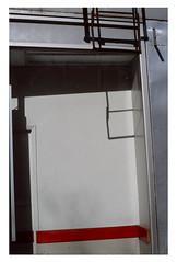 (Michael Raymond Lund) Tags: color slide film 35mm urban abstract minimal street photography nyc manhattan olympusom4ti fujichromeprovia100f newyorkcity eastvillage