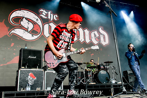 The Dammed at Beautiful Days 2016