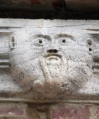 Man with mustache (magellano) Tags: montesiepi toscana tuscany italia eremo harmitage scultura sculpture escultura uomo man baffi mustache bassorilievo bassrelief