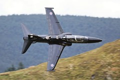 T2 (Dafydd RJ Phillips) Tags: military jet fighter aviation raf valley snowdonia mach loop bae systems hawk t2 zk028