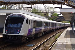 Crossrail Class 345005 @ Prittlewell (Steven Quy) Tags: crossrail brand new elizabeth line class 345005 345 train emu electric multiple unit southend prittlewell greater anglia essex bombardier