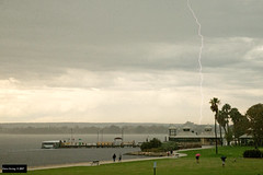 Lightning over Mends St Jetty (Dave 2x) Tags: lightning mendsstjetty mendsst jetty perth westernaustralia australia