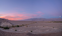 Furnace Creek sunrise, Death Valley National Park, California (www.clineriverphotography.com) Tags: california deathvalleynationalpark sunrisesunset furnacecreek usa aspect panorama 2016 panamintrange location light