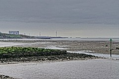 Heysham Power Station on a cloudy day (Gidzy) Tags: nuclearpower windpower morecambe heysham lancashire bay seaside