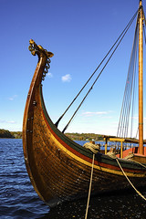 The Draken 1 (joegeraci364) Tags: woodenboat wood reproduction nauticalphotography nautical draken norway norse viking heritage handmade voyage scenic craft history travel beach shore coast scandinavia sail sailing ship vessel atlantic