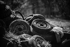 Tyres 2 (Rene_1985) Tags: bw monochromatic monochrom schwarz weis sw leica m 240 50mm noctilux 095 bokeh tyres reifen