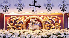 Easter Sunday IV - Our Passover Lamb Has Been Slain (Lawrence OP) Tags: agnusdei philippines basilica altar lambofgod manaoag dominican cross easter