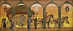 Study fot the painted mural (destroyed) to the Restauradores Post Office (Lisbon) (1940) - José de Almada Negreiros (1893-1970) (pedrosimoes7) Tags: josédealmadanegreiros caloustegulbenkianmuseum moderncollection lisbon portugal museu museum musée creativecommons cc ✩ecoledesbeauxarts✩ artgalleryandmuseums