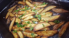 #130417 #jantar batata assada  #dinner Roasted potato (i cook my meals daily) Tags: 130417 dinner jantar