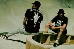 LOOK5 (Jonathan Laval) Tags: skatepark marseille sun concret wood fashion