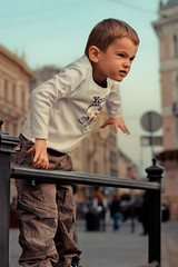 2014. Lviv. Ukraine (bobobahmat) Tags: city color child children lviv life lvov ukraine ukrainian people portrait boy kid kinder street son social citypeople