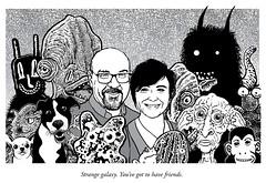Kelleys (Don Moyer) Tags: ink drawing creatures kickstarter moyer donmoyer brushpen earthlings