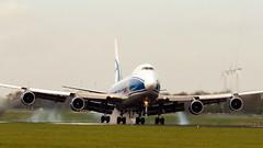 Boeing 747-400F (H&T PhotoWalks) Tags: boeing 747400f airbridgecargo russia vqbia polderbaan schiphol amsterdam thenetherlands ams spl eham canoneos400d sigma120400 x12