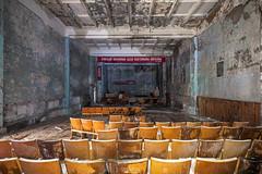 Centre Culturel De Duga (UrbexGround) Tags: urbex urbexground urban exploration lost abandoned city pripyat chernobyl duga radar