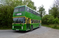 638 XAP638S (PD3.) Tags: 638 xap638s xap 638s bristol vr vrt ecw amberley west sussex chalk pits museum bus buses preserved vintage coach heritage centre show historic history southdown motor services