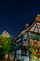 Nightshot Ecomusee Alsace (laurentw68) Tags: ecomusée écomusée dalsace night nightshot shot stars alsace hautrhin colombages cigogne lights long exposure longexposure