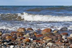 P1140631 (Lumixfan68) Tags: steine wasser wellen meer wittenbeck strand