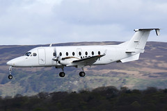 N38537 Beech 1900D at Glasgow on 22 April 2017 (Zone 49 Photography) Tags: glasgow egpf gla april 2017 beech 1900 1900d beech1900 beech1900d n38537