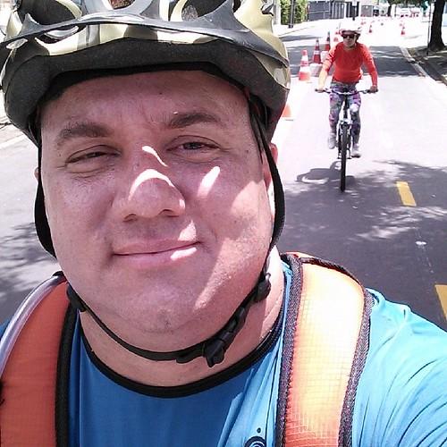 Boa e velha pedalada na #ciclofaixarecife