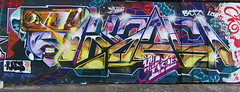 Kaes (cocabeenslinky) Tags: street city uk england urban streetart london art canon graffiti artist grafitti power shot photos south graf united capital kingdom tunnel powershot east waterloo april graff leake se1 artiste 2014 kaes g15 cocabeenslinky