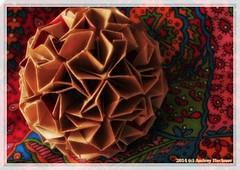 Felicità II (Andrey Hechuev | Андрей Хечуев) Tags: stella star origami estrela stern estrella paperfolding papiroflexia papercraft modularorigami felicità kusudama звезда оригами кусудама зірка андрейхечуев andreyhechuev андрейхечуевandreyhechuev оригамимодульное