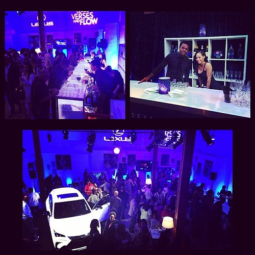 Fun night at the Lexus event tonight!  Night one down, three more to go. #staffing #bartenders #lexus #events #eventlife #sirenstudios #models #200ProofLA #200Proof