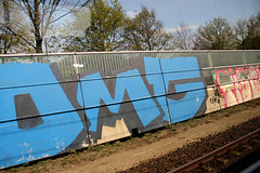 graffiti (wojofoto) Tags: holland graffiti nederland railway spoor dmg trackside spoorweg wojofoto
