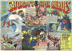 Saturday Superheroes on CBS, 1967 (Tom Simpson) Tags: television comics jonnyquest superman superhero 1967 herculoids cbs mobydick aquaman shazzan mightymightor supermanaquamanhour