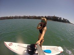 05/2014 Monterey with JG (BOMBTWINZ) Tags: ocean sanfrancisco ca cheese monterey jellyfish wine board paddle woody backpacking longboard mosslanding gopro blackedition standuppaddle bombtwinz hero3plus