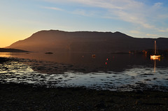 Ben More Coigach (marlesghillie) Tags: sunset point scotland gloaming ullapool benmorecoigach ardmair