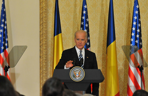 Vicepresedintele Joe Biden in Romania by U.S. Embassy Romania, on Flickr